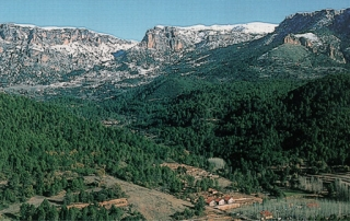 altos en la Sierra del Segura