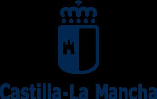Logo corporativo JCCM negativo azul